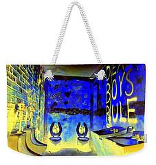 Cbgb's Notorious Mens Room Weekender Tote Bag