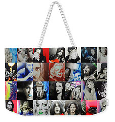 Mosaic - Ccart Mosaic - Series II Weekender Tote Bag by Christian Chapman Art