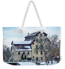 Cedarburg Mill Weekender Tote Bag by Susan  McMenamin