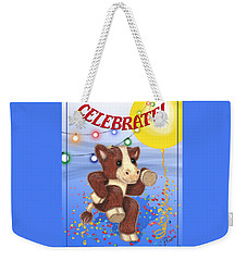 Celebrate Weekender Tote Bag by Jerry Ruffin