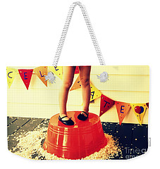 Celebrate Weekender Tote Bag by Valerie Reeves