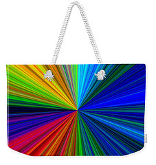 Celebration Weekender Tote Bag by Liz  Alderdice