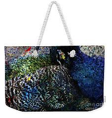 Celebration Of The Peacock #2 Weekender Tote Bag