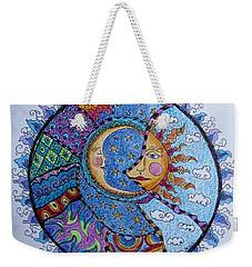 Celestial Tangle Weekender Tote Bag