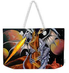 Celestian Dragon Weekender Tote Bag