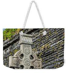 Celtic Cross At Kilmurry-ibrickan Church Weekender Tote Bag