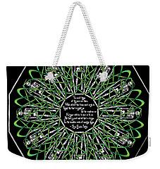 Celtic Flower Of Death Weekender Tote Bag