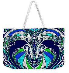 Celtic Love Dragons Weekender Tote Bag