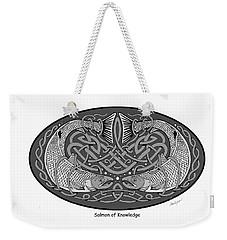 Celtic Salmon Weekender Tote Bag