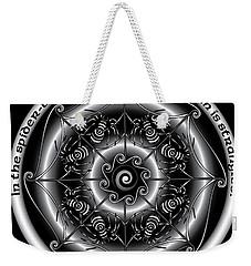 Celtic Spider Mandala Weekender Tote Bag