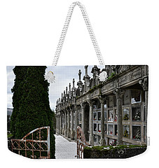 Cemetery In A Small Village In Galicia Weekender Tote Bag
