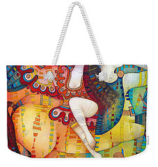 Centaur In Love Weekender Tote Bag