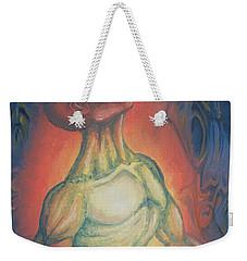 Center Flow Weekender Tote Bag