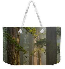 Center Of Forest Weekender Tote Bag