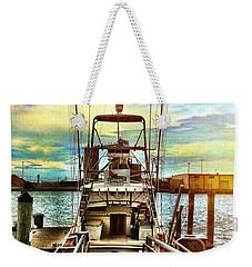 Centerfold Weekender Tote Bag