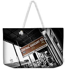 Central Grocery Weekender Tote Bag