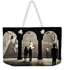 Central Park Bride Weekender Tote Bag