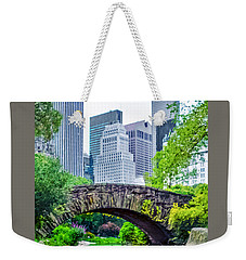 Central Park Nature Oasis Weekender Tote Bag
