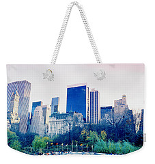 New York In Motion Weekender Tote Bag by Shaun Higson