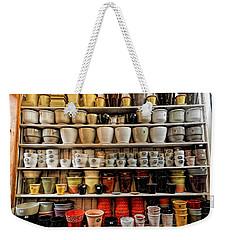 Ceramic Pots For Sale Weekender Tote Bag