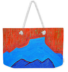 Cerro Pedernal Original Painting Sold Weekender Tote Bag