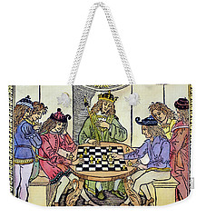 Weekender Tote Bag featuring the painting Cessolis Chess, 1493-94 by Granger