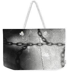 Chain Ladder Weekender Tote Bag