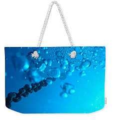 Chained Bubbles Weekender Tote Bag by Mim White