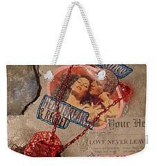 Chains Of Love Weekender Tote Bag