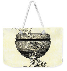 Chalice Weekender Tote Bag by Julio Lopez