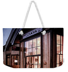 Weekender Tote Bag featuring the photograph Chama Train Station by Priscilla Burgers