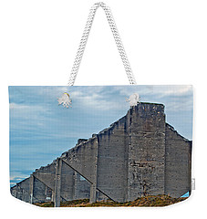 Weekender Tote Bag featuring the photograph Chambers Bay Architectural Ruins by Tikvah's Hope