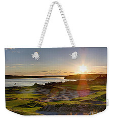 Chambers Bay Sun Flare - 2015 U.s. Open  Weekender Tote Bag by Chris Anderson