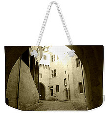 Chambery France Gate Weekender Tote Bag by Katie Wing Vigil