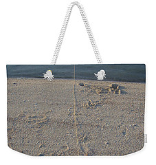 Weekender Tote Bag featuring the photograph Champagne Chillin by Robert Nickologianis