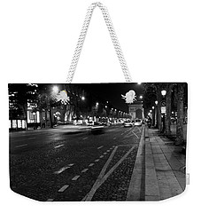Weekender Tote Bag featuring the photograph Champs Elysees - Paris by Lisa Parrish