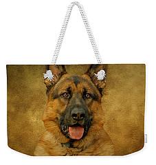 Chance - German Shepherd Weekender Tote Bag