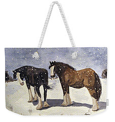 Chance Of Flurries Weekender Tote Bag