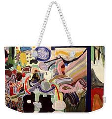 Changes In Space Weekender Tote Bag