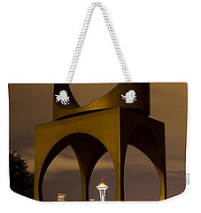 Changing Form Of Seattle Weekender Tote Bag