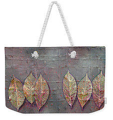 Changing Leaves Weekender Tote Bag