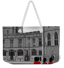 Changing Of The Guard At Windsor Castle Weekender Tote Bag