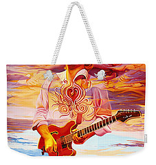Channeling The Cosmic Goo At The Gorge Weekender Tote Bag