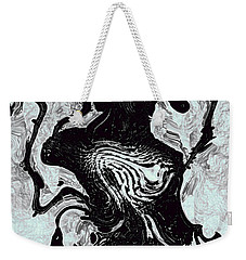 Weekender Tote Bag featuring the digital art Chanteuse by Richard Thomas