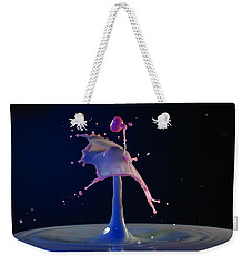 Weekender Tote Bag featuring the photograph Chaos by Kevin Desrosiers