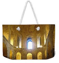 Chapel Glow Weekender Tote Bag