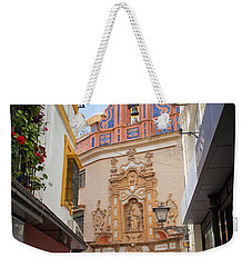 Chapel Of St. Joseph Of Seville Weekender Tote Bag