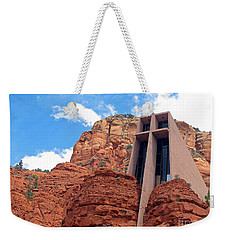 Chapel Of The Holy Cross Weekender Tote Bag