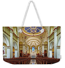 Weekender Tote Bag featuring the photograph Chapel Of The Immaculate Conception by Jim Thompson