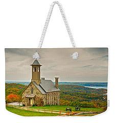 Chapel Of The Ozarks Weekender Tote Bag